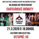 Divadelné prestavenie - Svatojánské Drímoty 1